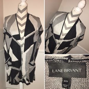 LANE BRYANT | NWT | long line open front cardigan